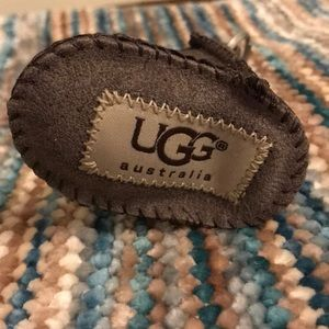UGG boot keychain authentic NWT brown
